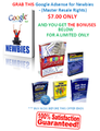 Thumbnail Google Adsense for Newbies - (Master Resale Rights) ***Special Edition