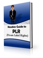 Thumbnail Newbies Guide to PLR - Private Label Rights